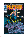Wolverine No.1 Cover: Wolverine Plastic Sign by John Buscema