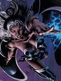 X-Men: Worlds Apart No.3 Cover: Storm Plastikskilte af Mike Deodato