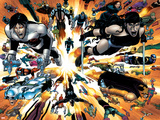 Wolverine No.26 Group: Elektra and Northstar Wall Decal