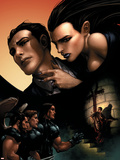 X-Force No.11 Cover: Wolverine, Angel, Warpath and Selene Wall Decal by Clayton Crain