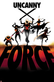 Uncanny X-Force 6 Cover: Spiral, Psylocke, Cluster, Storm, Puck Wall Decal by Marcos Martin