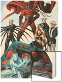 X-Men: Age of Apocalypse One Shot No.1 Group: Magneto, Iceman and Quicksilver Posters by Andy Kubert