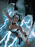 X-Men: Worlds Apart No.4 Cover: Storm Plastic Sign