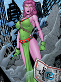 Exiles No.43 Cover: Blink Plastic Sign by James Calafiore