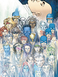 X-Men: Legacy No.208 Group: X-Men Plastic Sign by John Romita Jr.