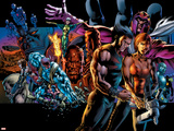 X-Men: Age of Apocalypse One Shot No.1 Cover: Wolverine Plastic Sign by Bryan Hitch