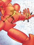 Astonishing X-Men No.36: Armor Fighting and Smashing Wall Decal by Jason Pearson