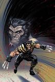 Ultimate Comics Wolverine #1 Cover: Wolverine Znaki plastikowe autor Arthur Adams
