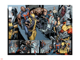 Uncanny X-Men No.494 Group: Wolverine, Bishop, Colossus, X-23 and Hepzibah Wall Decal by Billy Tan