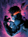 New X-Men No.152 Cover: Nightcrawler Plastic Sign by Marc Silvestri