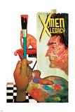 X-Men Legacy 8 Cover: Legion Plastic Sign by Mike Del Mundo