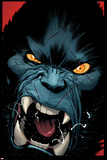 Amazing X-Men 3 Cover: Beast Plastic Sign by Ed McGuinness