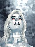 X-Men No.167 Cover: Emma Frost Plastikskilt af Salvador Larroca
