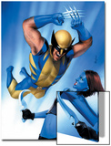 Mystique No.23 Cover: Wolverine and Mystique Posters