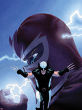 Uncanny X-Force No.9 Cover: Wolverine and Magneto Plastic Sign by Esad Ribic