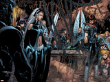 X-Men: Age of Apocalypse No.4 Group: Storm and Husk Wall Decal by Chris Bachalo
