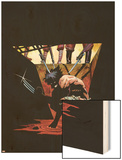 Logan No.1 Cover: Wolverine Wood Print by Eduardo Risso