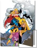 ExilesNo.44 Cover: Sasquatch, Magik, Morph, Nocturne, Mimic, Blink and Exiles Prints by Mizuki Sakakibara
