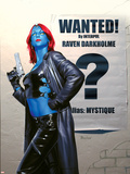Mystique No.24 Cover: Mystique Plastic Sign