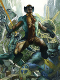 Astonishing X-Men No.28 Cover: Wolverine Plastic Sign by Simone Bianchi