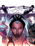 X-Men No.26 Cover: Storm Plastic Sign by Jorge Molina