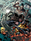 Wolverine: Origins No.32 Cover: Wolverine, Cyber and Daken Plastic Sign by Yanick Paquette