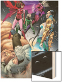Magneto: Not a Hero No.3: Scarlet Witch, Magneto, and Astra Prints by Clay Mann