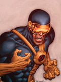 X-Men Forever No.18 Cover: Cyclops Plastic Sign by Tom Grummett