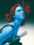Mystique No.11 Cover: Mystique Plastic Sign