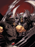 Cable No.14 Cover: Stryfe and Wolverine Wall Decal by Kaare Andrews