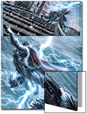 New Mutants No.25: Thor Flying in a Lightning Storm Prints by Leandro Fernandez