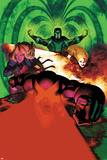 Uncanny X-Men 5 Cover: Cyclops, Magik, Frost, Emma, Magneto Wall Decal by Frazer Irving