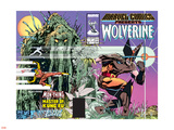 Marvel Comics Presents Wolverine No.1 Cover: Wolverine Plastic Sign by Walt Simonson