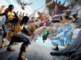 X-Men Giant-Size No.1: Cyclops, Marvel Girl, Angel, Quicksilver, Iceman, Beast and Others Prints by Paco Medina