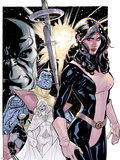 Uncanny X-Men No.535 Cover: Kitty Pryde, Colossus, Wolverine, and Emma Frost Plastic Sign by Terry Dodson