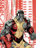 Uncanny X-Men No.507 Cover: Colossus Plastic Sign by Terry Dodson