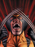X-Men Origins: Wolverine No.1 Cover: Wolverine Plastic Sign by Mark Texeira