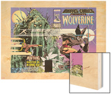 Marvel Comics Presents Wolverine No.1 Cover: Wolverine Wood Print by Walt Simonson