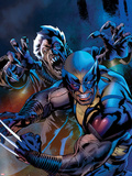 Wolverine: The Best there is No.5 Cover Plastic Sign by Bryan Hitch