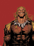 Wolverine & The X-Men No.8: Sabretooth Plastic Sign by Chris Bachalo