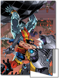 Uncanny X-Men: First Class No.7 Cover: Colossus and Wolverine Prints by Reilly Brown