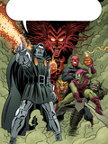X-Men: First Class No.11 Group: Dr. Doom, Mephisto and Green Goblin Prints by Nick Dragotta