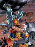 Uncanny X-Men: First Class No.7 Cover: Colossus and Wolverine Wall Decal by Reilly Brown
