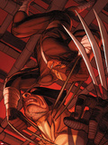 Daken: Dark Wolverine No.9.1: Daken and Wolverine Plastic Sign by Ron Garney