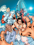 Alpha Flight No.3 Cover: Alpha Flight Plastic Sign by Clayton Henry