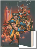 The Official Handbook Of The Marvel Universe: Wolverine 2004 Cover: Wolverine Print by Salvador Larroca
