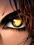 X-Men: Phoenix - Endsong No.5 Cover: Phoenix, Grey and Jean Signe en plastique rigide par Greg Land