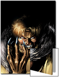 Wolverine No.13 Cover: Sabretooth Fighting Prints by Darick Robertson