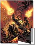 Wolverine Punisher No.1 Cover: Wolverine and Punisher Plakater af Mike Deodato