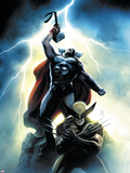 Wolverine First Class No. 15 Cover: Wolverine and Thor Wall Decal by Dennis Calero